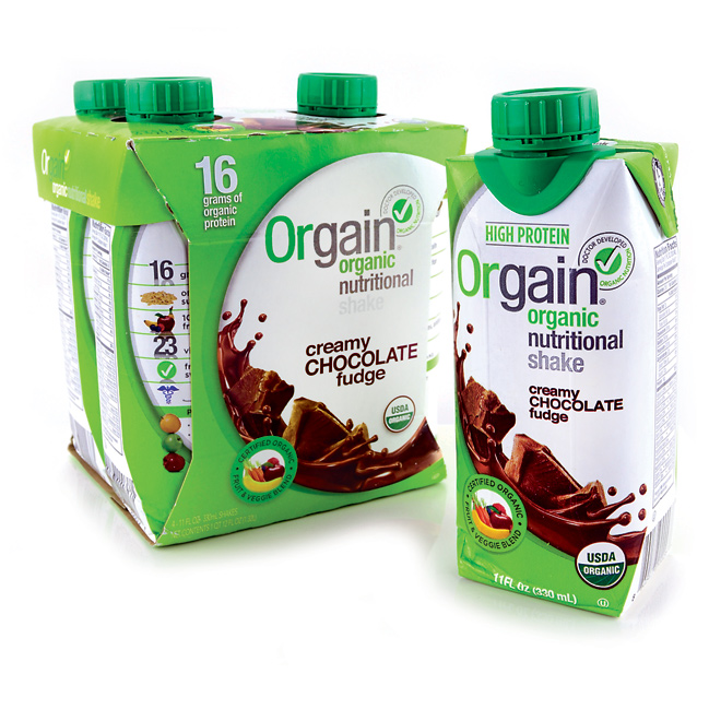 Orgain Organic Nutrition Shake Review